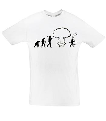 Potisk trička Evoluce armageddon