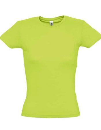 dámské tričko s krátkým rukávem miss basic náhled eshop