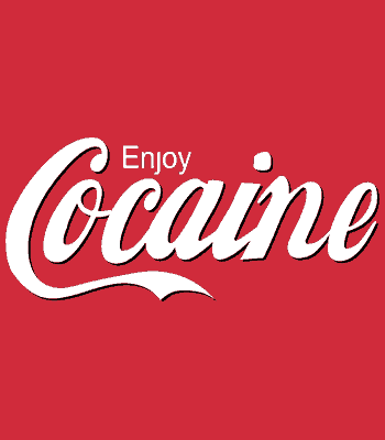 Enjoy cocaine triko