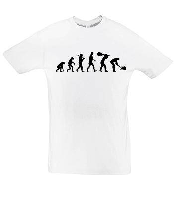 Potisk trička Evoluce kytara