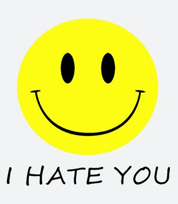 hate b white