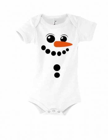kojenecké body se sněhulákem