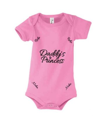 Kojenecké body tátova princezna