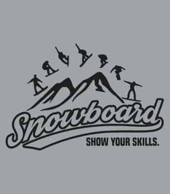 pánská mikina na snowboard