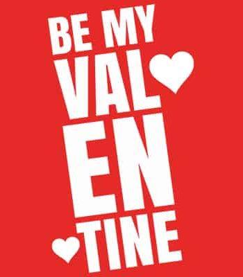 tričko na valentýna