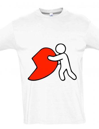 tričko pro páry valentýn