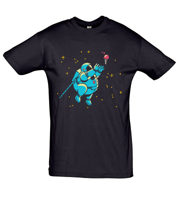 Tričko s potiskem Astronaut