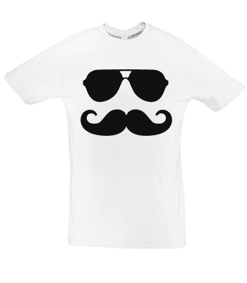 tričko movember moustache