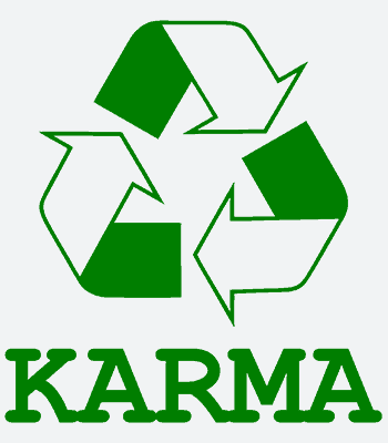 karma b white