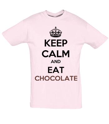 keep calm eat chocolate