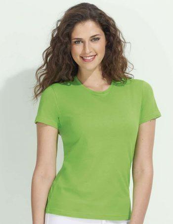 dámské tričko s krátkým rukávem miss basic