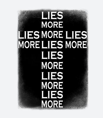 more lies B white