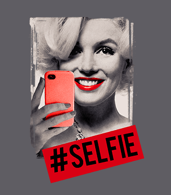 selfie marilyn 01B mouse gray