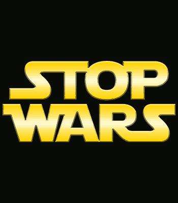 stop wars b black