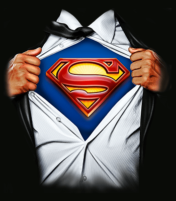 superman01 B deep black