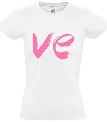 valentýnské trička Love dámské